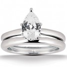 Perla Engagement Ring & Matching Band