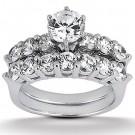 Isabella Engagement Ring & Matching Band