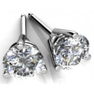 MARTINI STYLE LAB CREATED DIAMOND STUDS