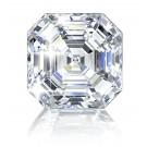 ASSCHER CUT LAB CREATED DIAMOND