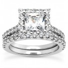 Venice Engagement Ring & Matching Band