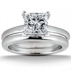 Paris engagement Ring & Matching Band