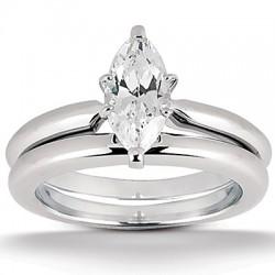 Christine Engagement Ring & Matching Band