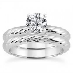 Anna Engagement Ring &  Matching Band
