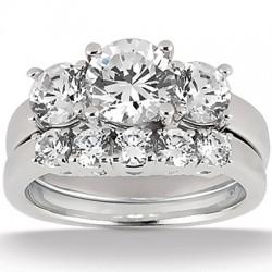 Olivia Engagement Ring & Matching Wedding Band