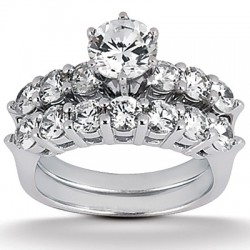 Isabella Engagement Ring & Matching Band