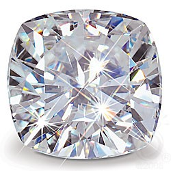 CUSHION CUT LAB CREATED DIAMOND
