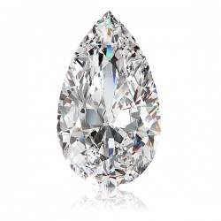 PEAR CUT LAB CREATED DIAMOND