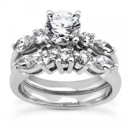 Valentina Engagement Ring & Matching Band